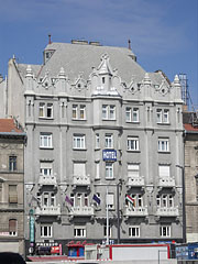 The Art Nouveau style three-star Hotel Baross - Budapešť, Maďarsko