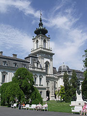 The southern side of the Festetics Palace of Keszthely - Keszthely, Maďarsko