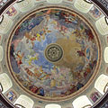 Impressive fresco in the dome of the Eger Basilica - Eger, Maďarsko