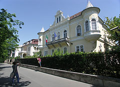 The palace of the Embassy of Italy - Budapeşte, Macaristan