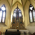 Gothic chapel, including the Sacred Heart of Jesus Altar - Budapeşte, Macaristan