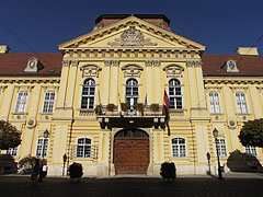 Facade of the Bishop's Palace (or Episcopal Palace) - Székesfehérvár, Ungaria