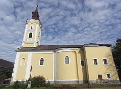 The late baroque style Roman Catholic church of Nagykálló - Nagykálló, Hungria