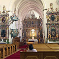 The Pauline Church from inside - Márianosztra, Ungheria