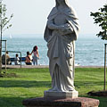 Statue of St. Elizabeth of Hungary - Balatonalmádi, Hongrie