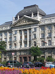 "The central building of the Ministry of Interior or Ministry of Home Affairs of Hungary (in Hungarian ""Belügyminisztérium"") - Budapest, Hongrie"