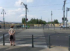 The southern exit road of the Margaret Island (way up to the Margaret Bridge) - Budapest, Hongrie