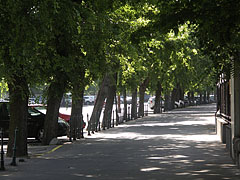 Shady walkway - Budapest, Hongrie