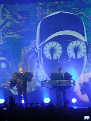 "Pet Shop Boys: ""Fugitive"" - Budapest, Hongrie"