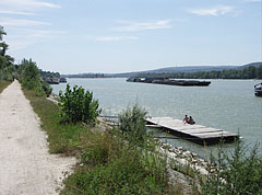 """The riverbank of Danube on the Népsziget (literally """"People's Island"""") - Budapest, Hongrie"""