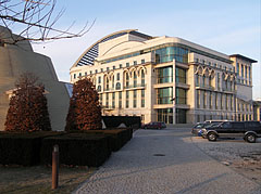The new National Theatre was opened in 2002 - Budapeszt, Węgry