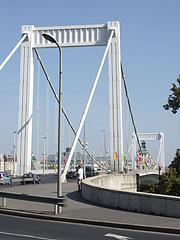 The Elisabeth Bridge from Buda - Budapeszt, Węgry