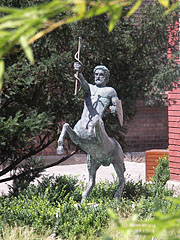 Bronze centaur statue in the park - Budapeszt, Węgry