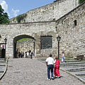 The gate on the 16th-century outer walls of the Eger Castle - Eger (Jagier), Węgry