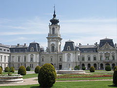 The west side of the baroque Festetics Palace - Keszthely, Унгария