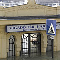 "Boat station at Vigadó Square (""Vigadó tér"") - Будапешт, Венгрия"