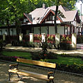 Bench under the shady trees - Siófok, Ungarn