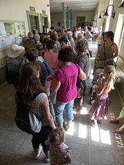 The inner ticket offices in the visitor center - Szentendre (Sankt Andrä), Ungarn