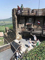 Bastion of the castle - Szigliget, Ungarn