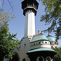 The lookout tower of the Elephan House - Budapest, Ungarn