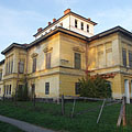 The eclectic style (late neoclassical and romantic style) former Széchenyi Mansion - Barcs, Hongarije