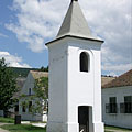 The early-19th-century-built belfry from Alszopor (which is today a part of Újkér village in Győr-Moson-Sopron County) - Szentendre, Hongarije