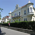 The palace of the Embassy of Italy - Budapest, Ungari