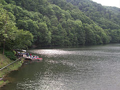 The picturesque Hámori Lake that was created by damming up the Garadna Streem - Miskolc, Ungarn