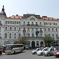 The eclectic style County Hall of Baranya - Pécs, Ungarn