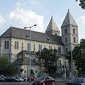 Roman Catholic Church of the Lehel Square (officially Church of Saint Margaret of Hungary) - Budapest, Ungern