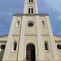 "The Roman Catholic Sacred Heart of Jesus Church (""Jézus Szíve templom"") - Paks, هنغاريا"