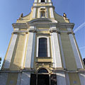 The late baroque style Roman Catholic church of Szekszárd - Szekszárd, هنغاريا