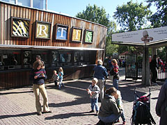 The main entrance of the Artis Zoo - Amsterdam, Netherlands