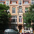 Wealthy residential area - Amsterdam, Netherlands