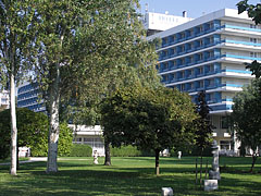Park in front of the 3-stars Hotel Annabella - Balatonfüred, Hungary
