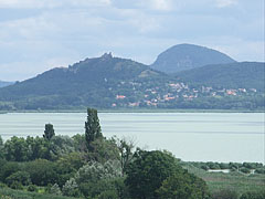 "The Szigliget Castle viewed from the ""Szépkilátó"" (it means ca. ""nice lookout point"") - Balatongyörök, Hungary"