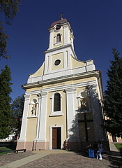 Roman Catholic church of Barcs (also known as Christ the King church) - Barcs, Hungary