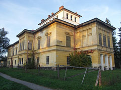 The eclectic style (late neoclassical and romantic style) former Széchenyi Mansion - Barcs, Hungary