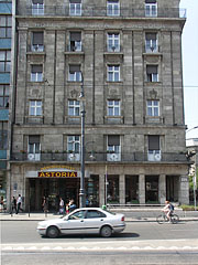 The prestigious four-star Danubius Hotel Astoria - Budapest, Hungary