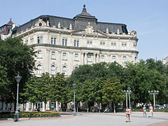 Former Dungyerszky Palace, today modern office building - Budapest, Hungary