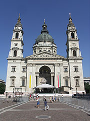 The Roman Catholic St. Stephen's Basilica - Budapest, Hungary