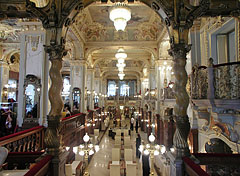 The New York Café coffee house, opened in 1894 - Budapest, Hungary