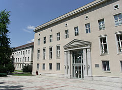 The main building of the College of International Management and Business (since 2001 a faculty of the Budapest Business School) - Budapest, Hungary
