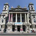 Palace of Justice (the major part of the building is used by the Hungarian Ethnographic Museum) - Budapest, Hungary