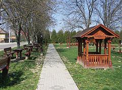 Park in the village center - Csővár, Hungary