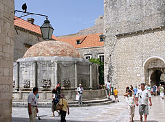The Great Onofrio's (aka Onuphrius' Fountain or Onoufrios' Fountain) - Dubrovnik, Croatia