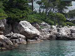 Landscape of the Lokrum Island - Dubrovnik, Croatia