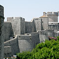 The northern city wall - Dubrovnik, Croatia