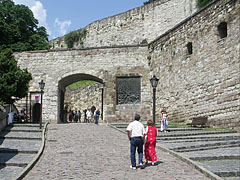 The gate on the 16th-century outer walls of the Eger Castle - Eger, Hungary