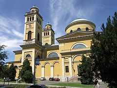 The southern side of the Basilica of Eger - Eger, Hungary